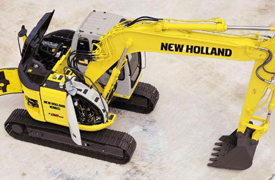 NEW HOLLAND E 135 B SR LC