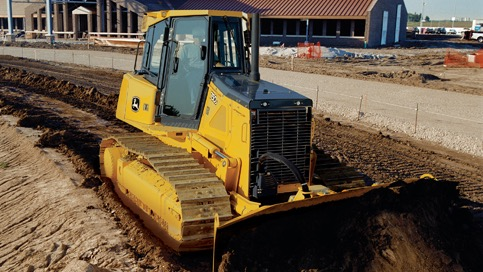 JOHN DEERE 750 J LGP