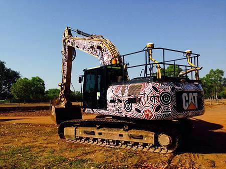 CATERPILLAR 329 D L REACH